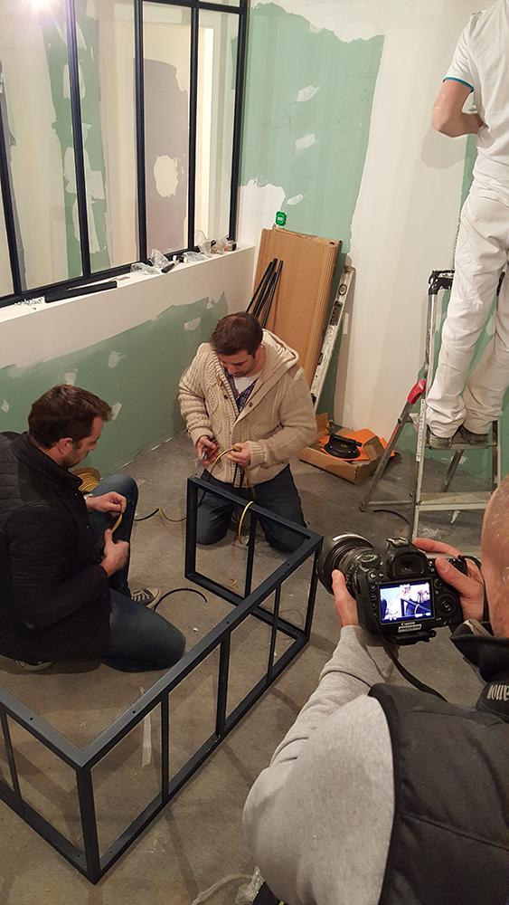 verri re atelier cuisine mission m6 d co verriere atelier d 39 artiste. Black Bedroom Furniture Sets. Home Design Ideas